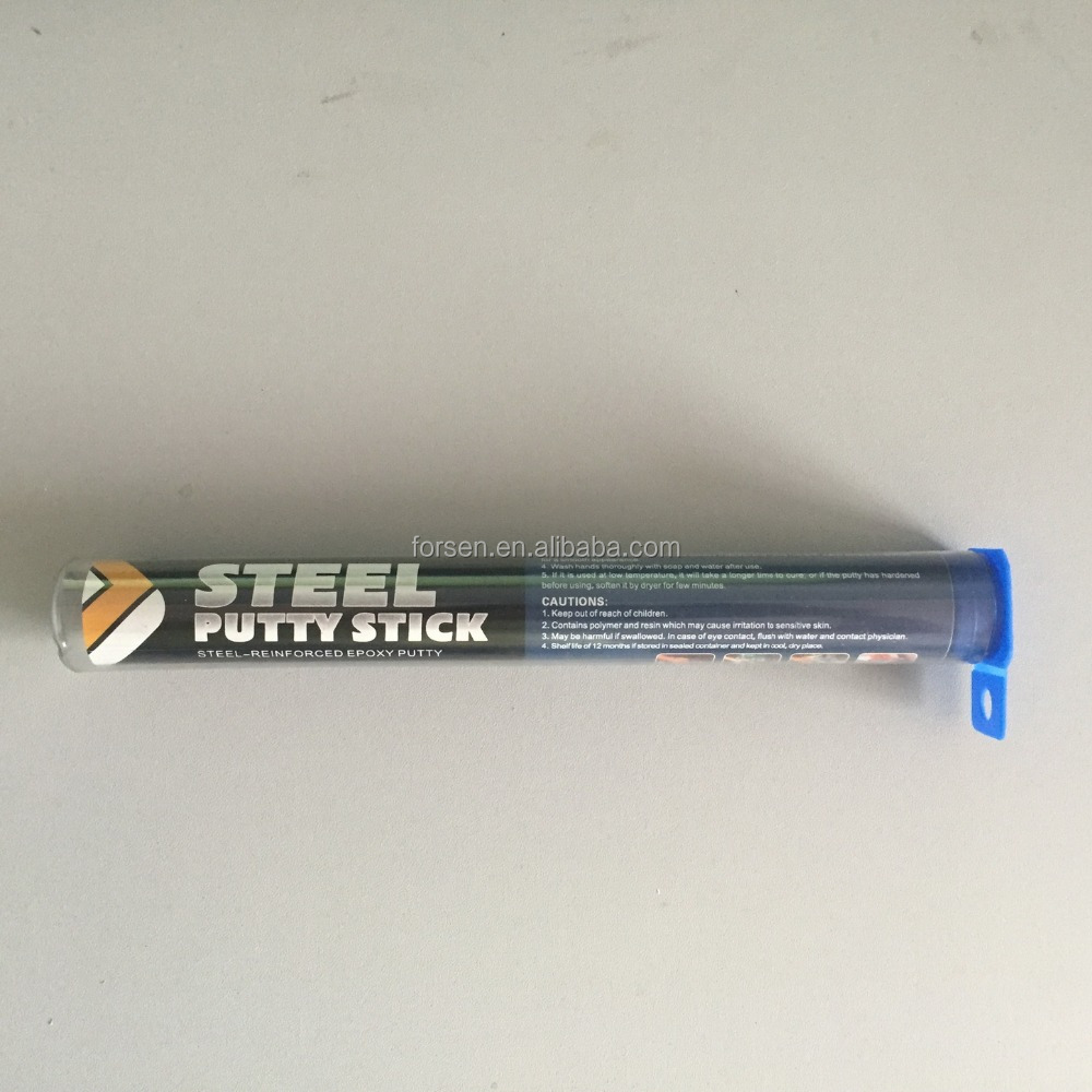 Epoxy Two Component Steel Putty Stick Immegency Repair 114G Stick Adhesive