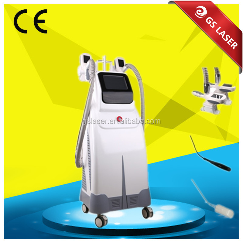 4 handles work together cellulite reduction cryotherapy machine price