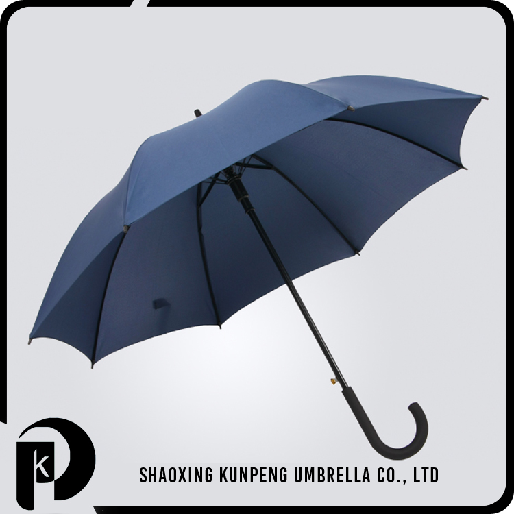 Windproof Compact Travel Customized Straight Umbrella Full Printing Umbrella