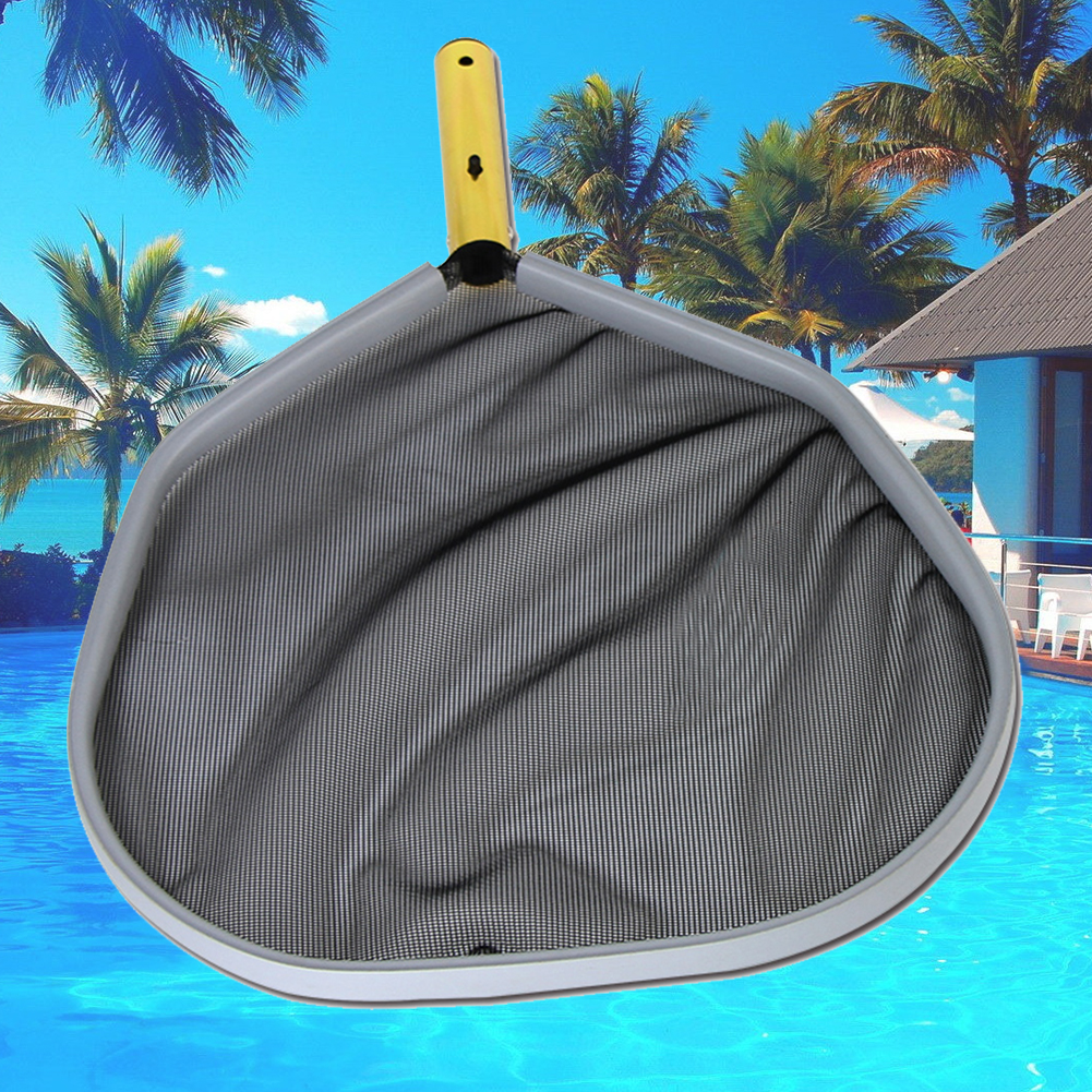 2019 Pool Cleaning Tool Fine Mesh Aluminum Frame Leaf Rake Net Practical  Lightweight Durable Swimming Pool Cleaning Net From Suipao, $30.02 | ...
