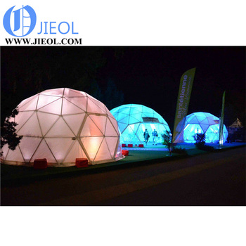 2000 people tent 40*60m dome house polystyrene