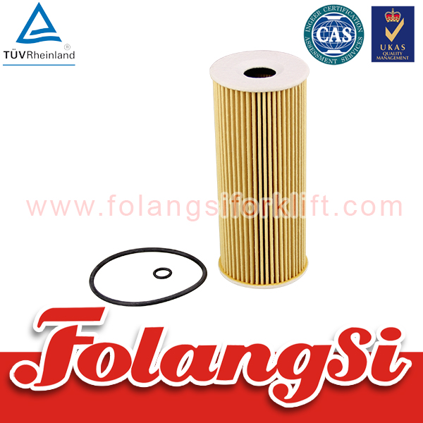 High quality Folangsi Forklift Spare Parts Oil Filter used for LINDE 394-01 series H40/45/50/BMF with OEM VW071115562C