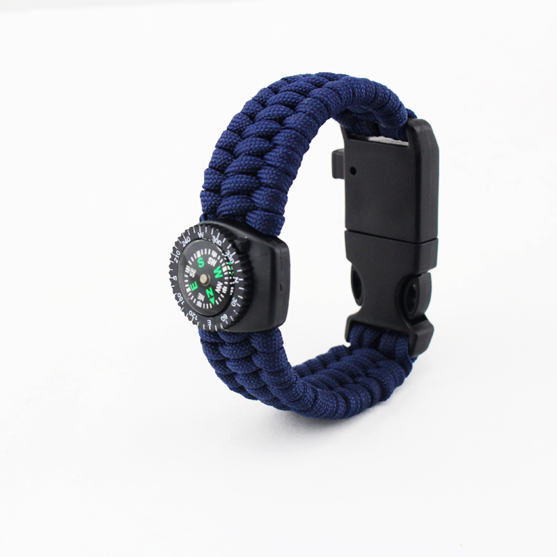 Popular 7 inner strands thermometer Military paracord bracelet