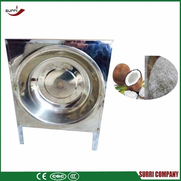 Stainless steel electric coconut grater