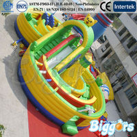 Giant Commercial Obstacle Inflatables with Climber for Sale