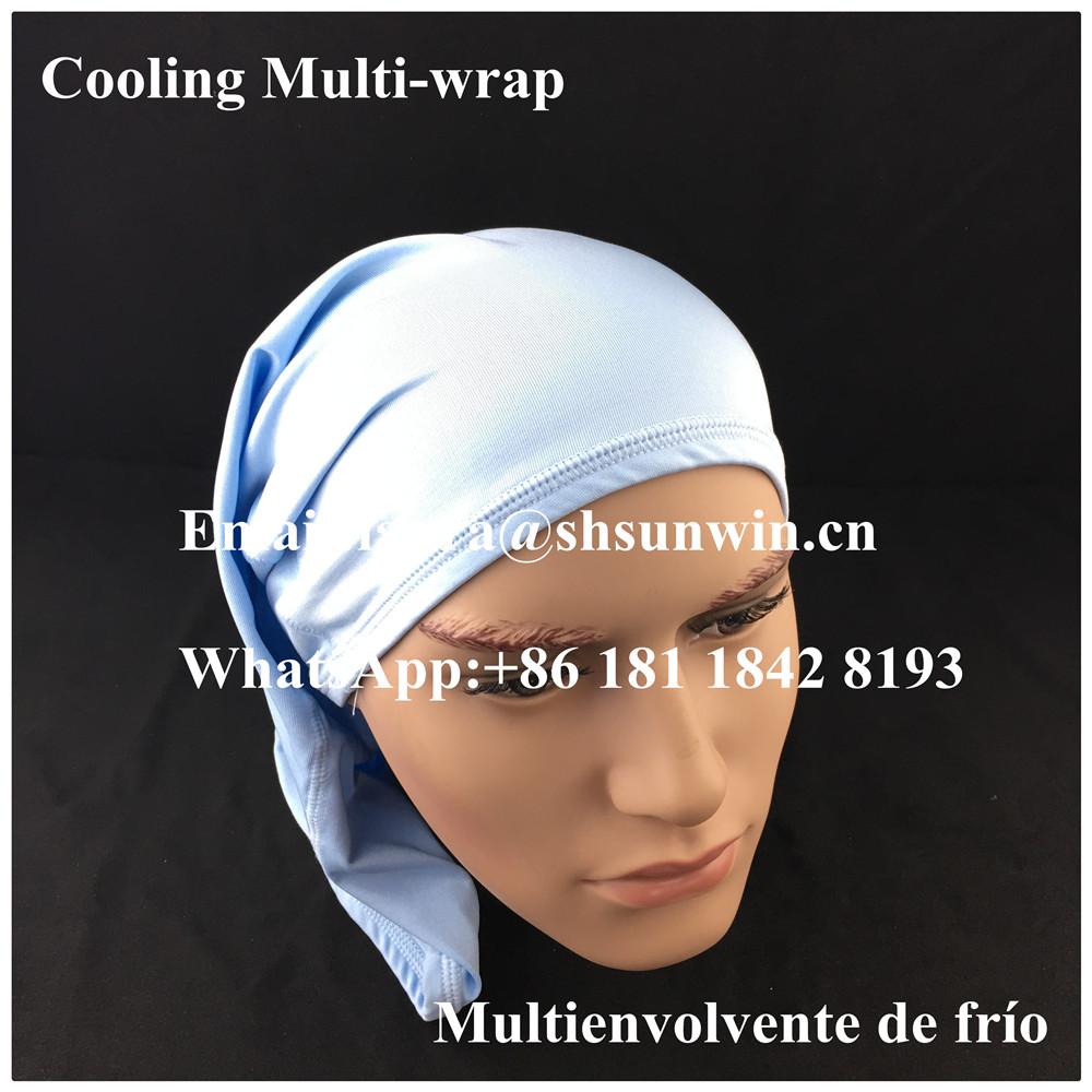 d4bcb19846ad Headbands for men and women - No Slip Sweat Wicking Turban Elastic Fashion  Multi Style Head