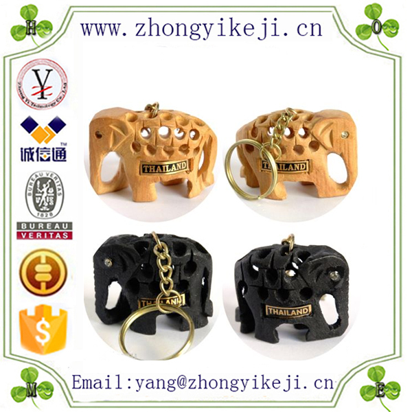 factory custom-made handmade carved fashion Resin souvenir elephant