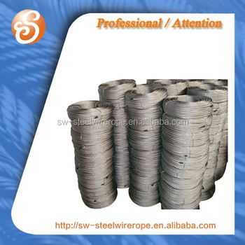 6x36ws+fc Hot Dipped Galv.cable Stell Wire Rope Din3064 Iso ...