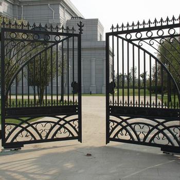 Popular Modern House Sliding Wrought Iron Main Gate Designs Buy