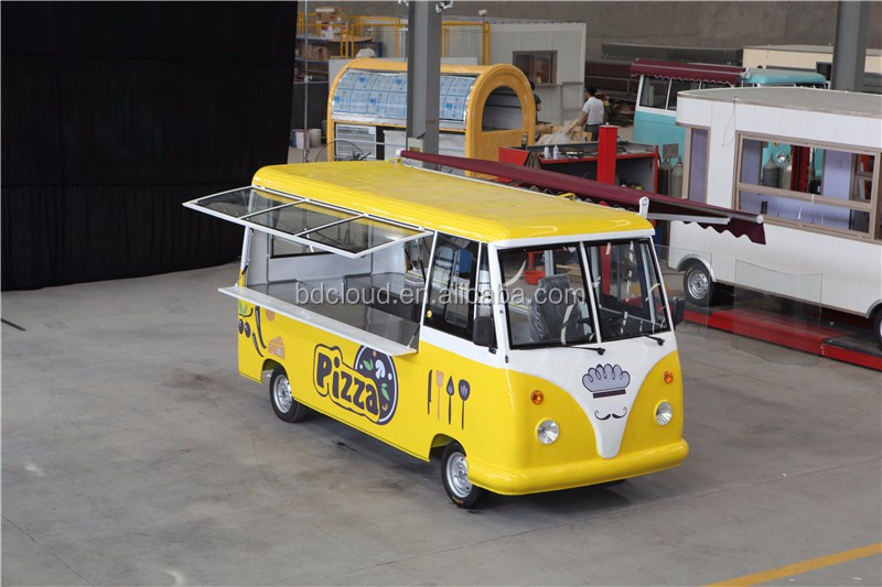 Chinese cheap price eletric mobile fast food car for sale