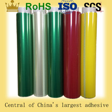 High temperature single side polyester silicone coating for car painting