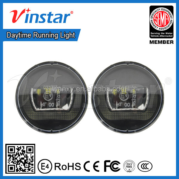 2016 factory direct selling Auto Spare Parts Universal Led DRL Special for Honda Jazz Fit Daytime Running Lights