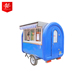 No Wind Rain Or Storm Mobile Food Cart / Icecream Cart / Snack Trailer