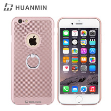 In Stock Customized Dotted Ring Holder Phone Case, Finger Ring Holder Phone Case For iPhone6 Plus