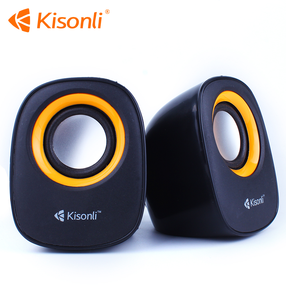 Two-way 3D Stereo Sound Multimedia Wired Computer Speakers Subwoofer PC Mini Speaker