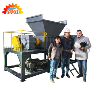 Reliable Quality Rubbish Timber Shredder Solid Waste Shredder Crusher Recycling Machine For Sale