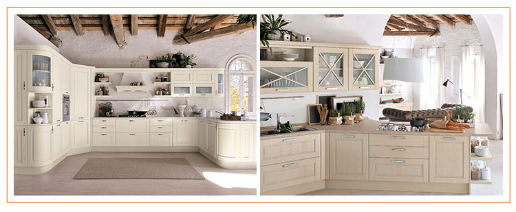 Various Models 2015 Modern Style America White Solid Wood Kitchen ...