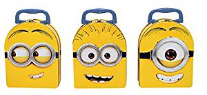 Despicable Me Arch Shape Carry All Tin Box x 3 (1 style Each)