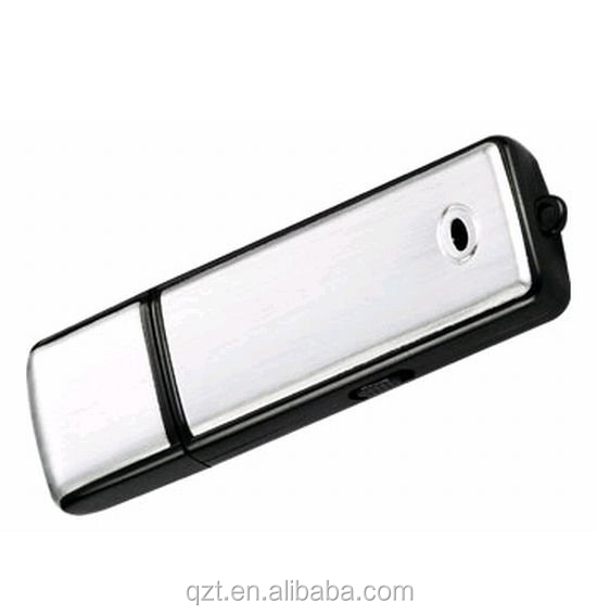 QZT 포 인 트 2 in1 8 기가바이트 Digital Voice Recorder + USB Flash Memory Stick Drive Hidden mini voice recorder