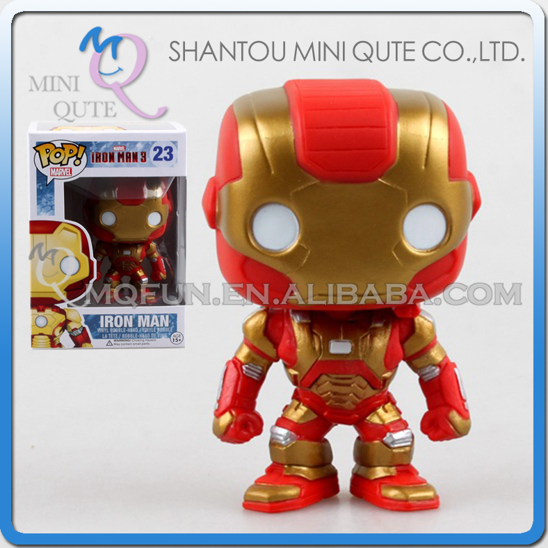 Mini Qute Funko Pop Marvel Avenger super hero Captain America action figures collection cartoon models educational toy NO.FP 23