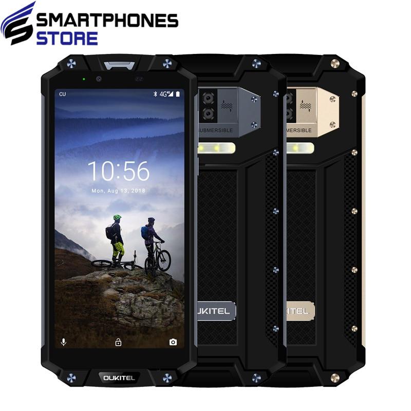 "OUKITEL WP2 IP68 Waterproof Dust Shock Proof Mobile Phone 4GB 64GB MT6750T Octa Core 6.0 18:9 10000mAh Fingerprint Smartphone"""