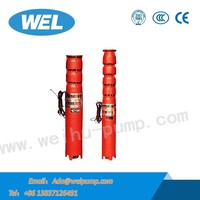 4 inch 380v Multistage Pump Centrifugal Submersible Spring Pumps