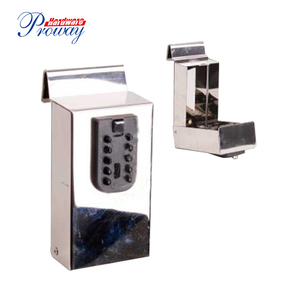 stainless steel key storage lock box for house/storage