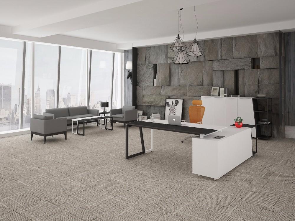 Style européen couleur noir et blanc moderne de table de bureau de