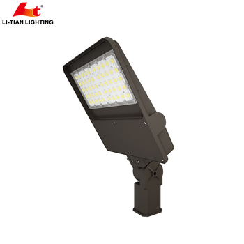 silp fitter mounting led Motion sensor photocell 150w 200w 240w 300w led parking lot light area light