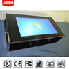 Waterproof! 2015 hot new bar touch table 42-65 inch interactive multi touch table ir touch pc i3/i5/i7 ce rohs