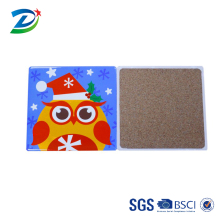 OEM Multicolor square ceramic kitchen trivet table mat for cooking