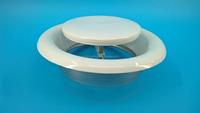 HVAC mental disc valve ventilation air valve mental air duct valve