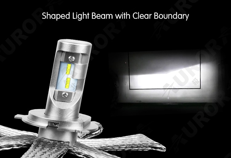 High Power Auto Lighting System LED Headlight Conversion Kit Super Bright Automotive LED Replacement Bulb