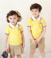 Bulk wholesale different colours kindergarten school uniforms