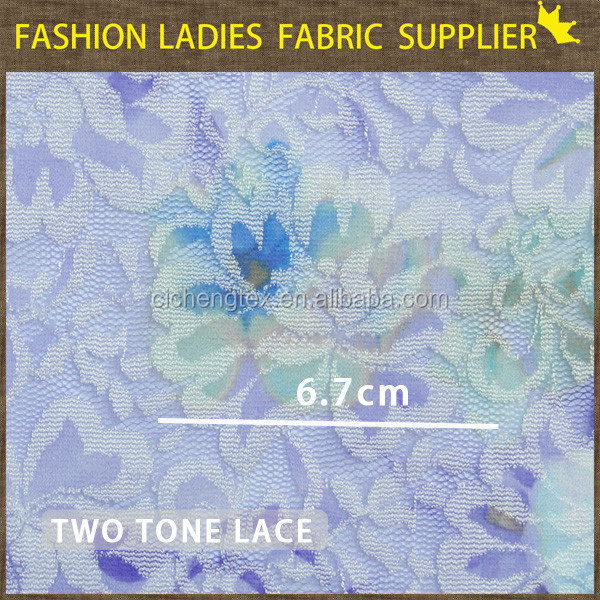 J shaoxing cicheng high quality lace fabric white bridal lace fabric