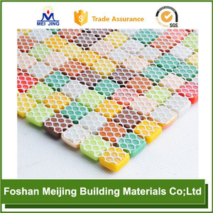White Polyester Mesh Coop Leroy Merlin For Paving Mosaic