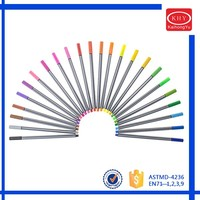 36 Colors Washable Watercolor Pens Drawing Kids Art Supplies Marker Painting
