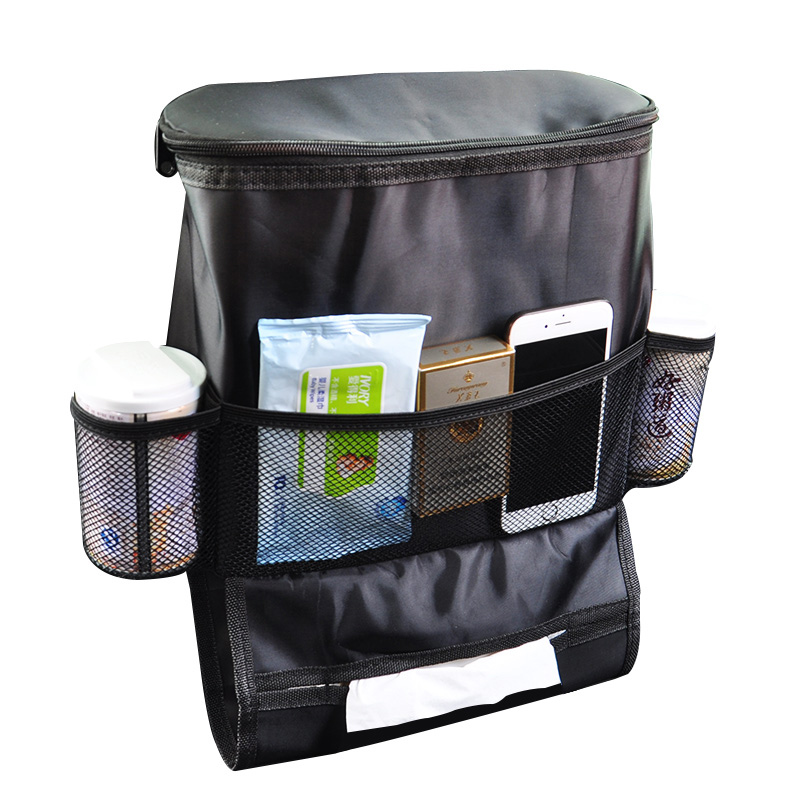 Factory car back seat organizer storage for