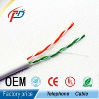 Cat3 2pairs unShielded Twisted Telephone Cable