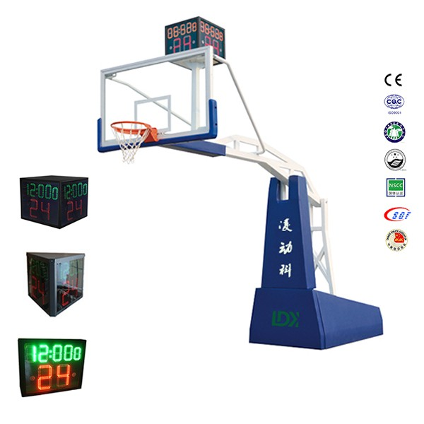 Remote control 2.4*1.2*0.87*0.45 mm base hydraulic basket ball stand