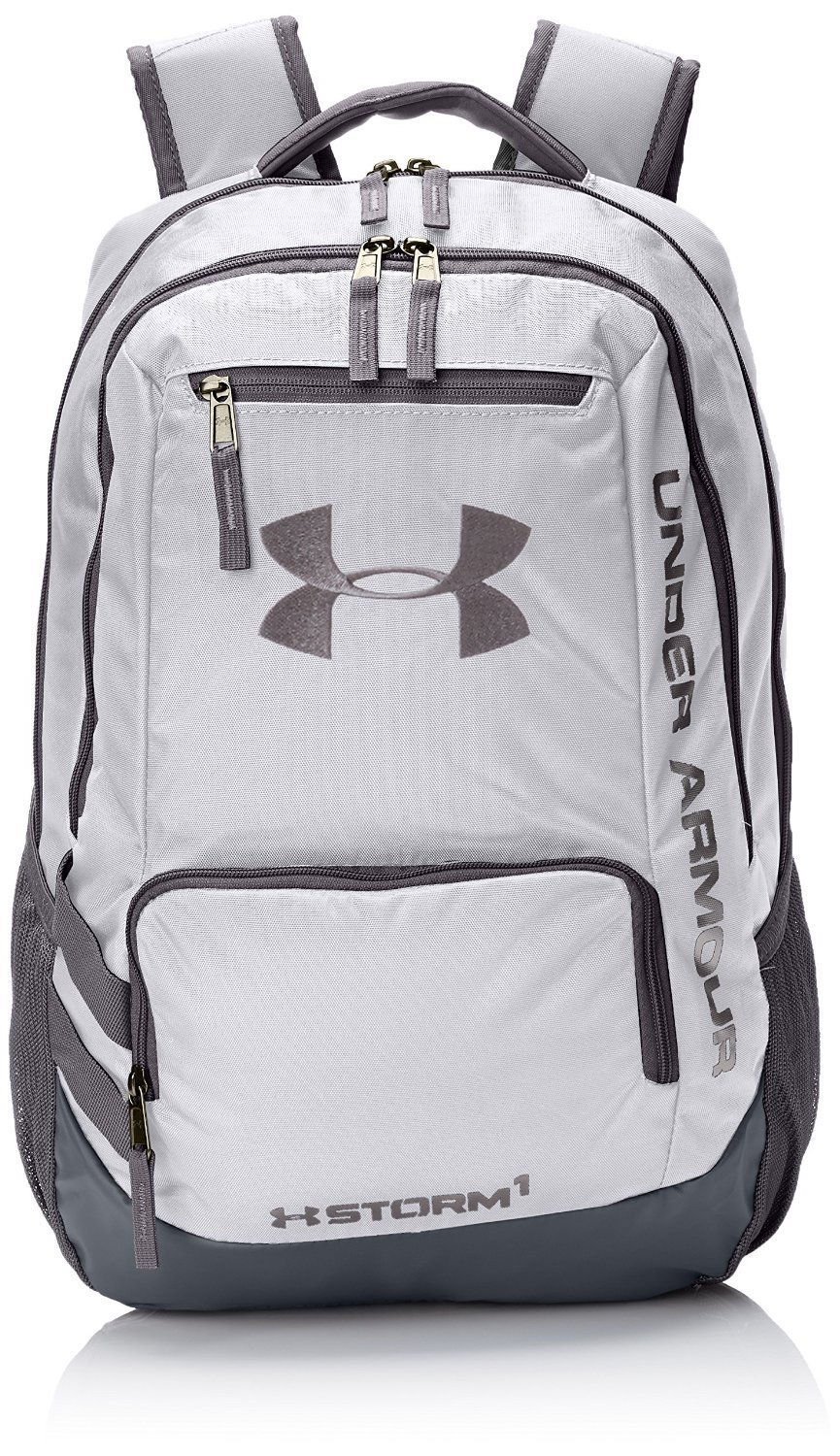 72f48cffa0da Get Quotations · Under Armour Hustle II Premium Backpack - White