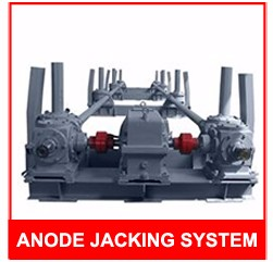 Joda Patent Automatic Metal Aluminum Smelter Equipment Anode Busbar Jacking Frame for Sale