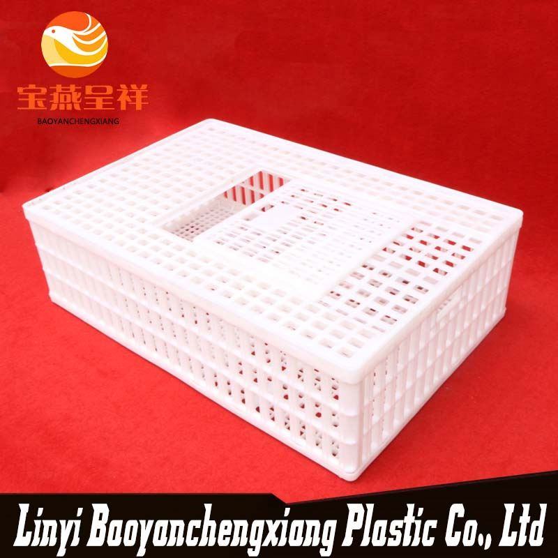good quality high performance plastic live poultry cage folding chicken coop