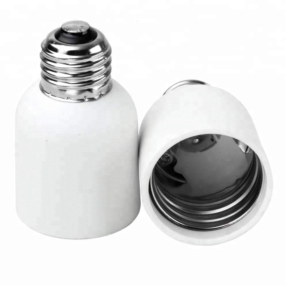 E26 to E39 <strong>E27</strong> to E40 Light Bulb Socket Adapter Medium Screw Base to Mogul Lamp Holder Converter