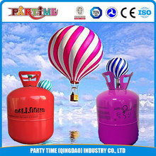13.4L Disposable helium gas cylinder used for celebrations