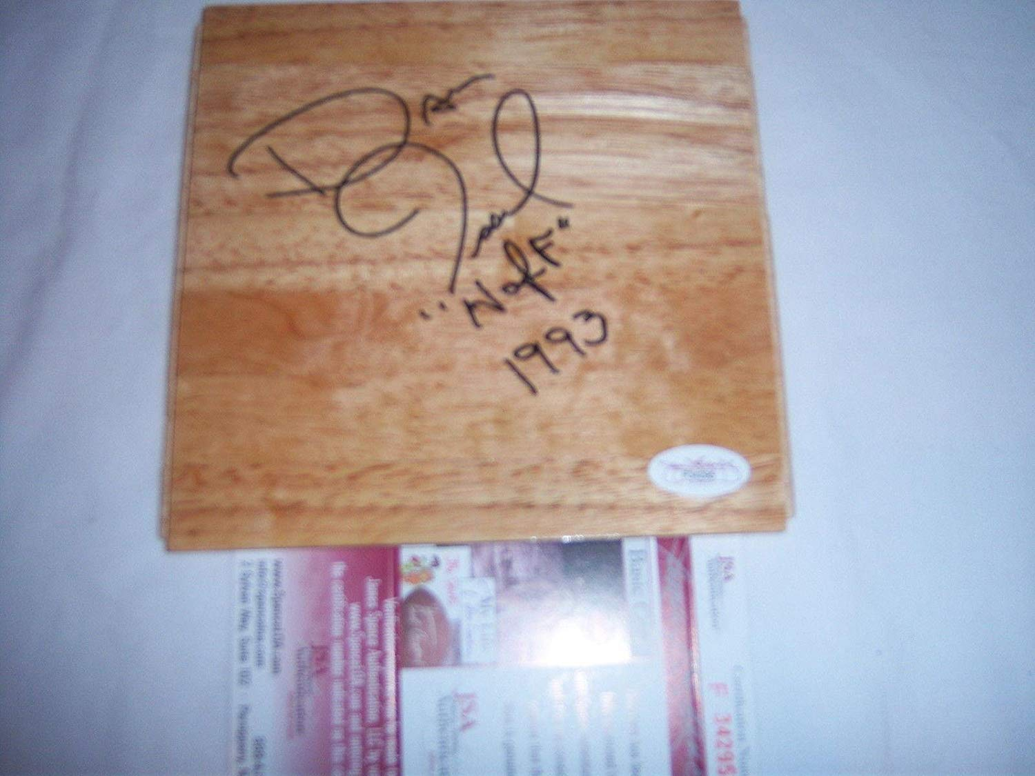 Dan Issel Kentucky Wildcats,denver Nuggets,hof coa Signed Floorboard - JSA Certified - Autographed College Floorboards