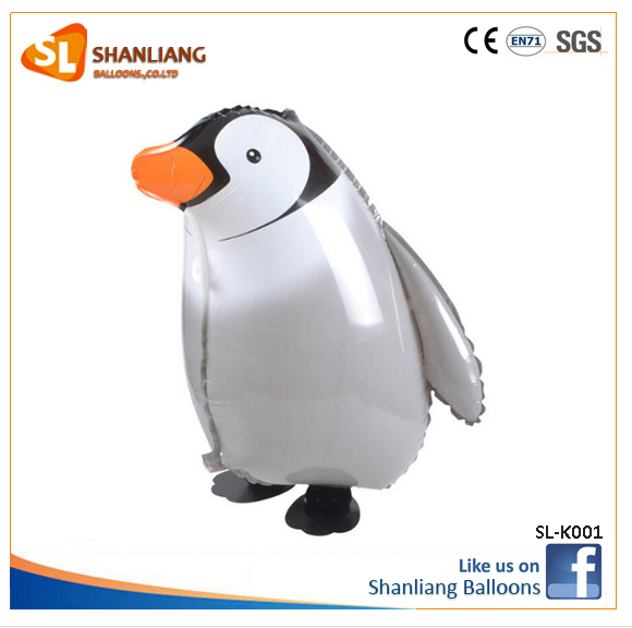 New Walking Penguin Aniaml Pet Foil Balloon for Kids Birthday Party Decoration Helium Balloon