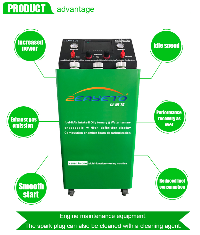 Zeayeto machine and Zeoyeto agent automobile engine carbon cleaning machine for cars system intake valve carbon clean machine