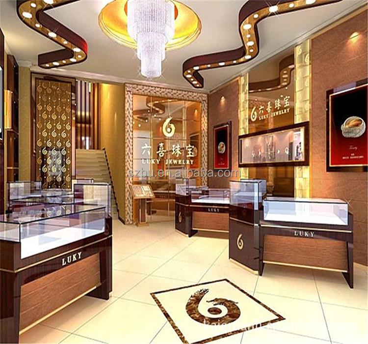 Jewellery shop furniture design for Jewellery interior designs
