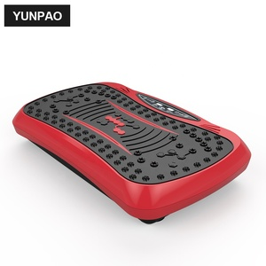 55cc6f716d14a Fitness vibration platform mini vibration plate massage whole Full body  shape exercise machine crazy fit massage